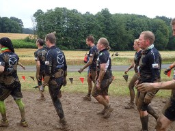 Tough Mudder, Hindernislauf NRW, Team Kelly