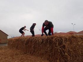 Neptunus Run Hindernislauf Belgien, Hindernis Stohballen