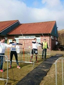 Norderneyer Obstacle Fight, Hindernislauf Deutschland, Hindernis Bogenschiessen