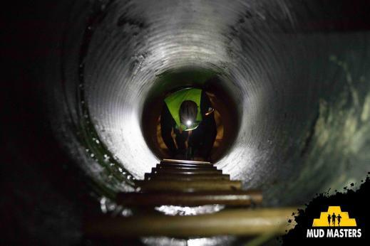 Mud Masters Obstacle Run Night Shift, Hindernislauf Deutschland, Hindernis Anaconda Trail