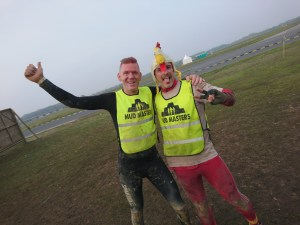 Mud Masters Obstacle Run Night Shift, Hindernislauf Deutschland, Tough Chicken mit Dutch Mud Man