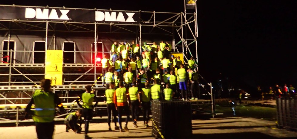 Mud Masters Obstacle, Hindernislauf Deutschland, Hindernis Execution by night