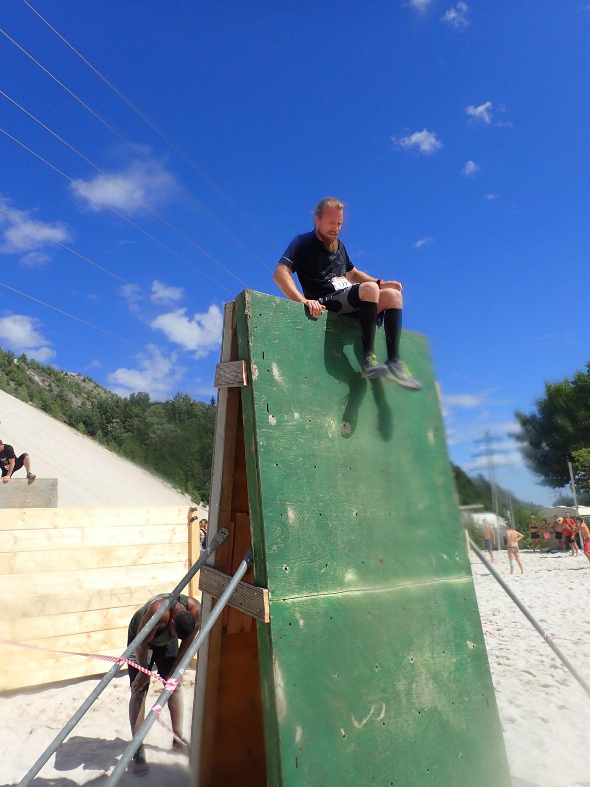 Sandblaster Run, Hindernislauf Deutschland, Hindernis Wall