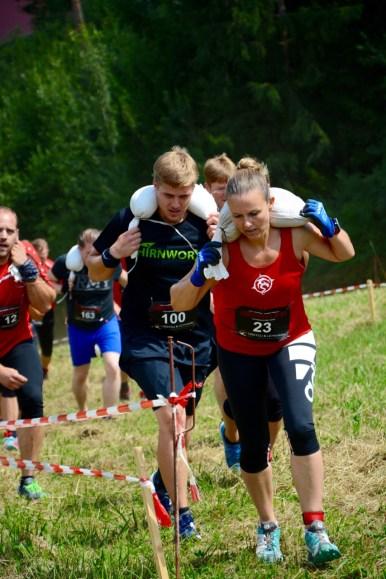 Wrestling Run, Hindernislauf Deutschland, Sandsack