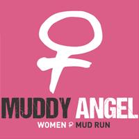Logo Muddy Angel Mud Run