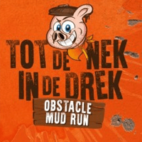 Logo Tot de Nek in de Drek Obstacle Run
