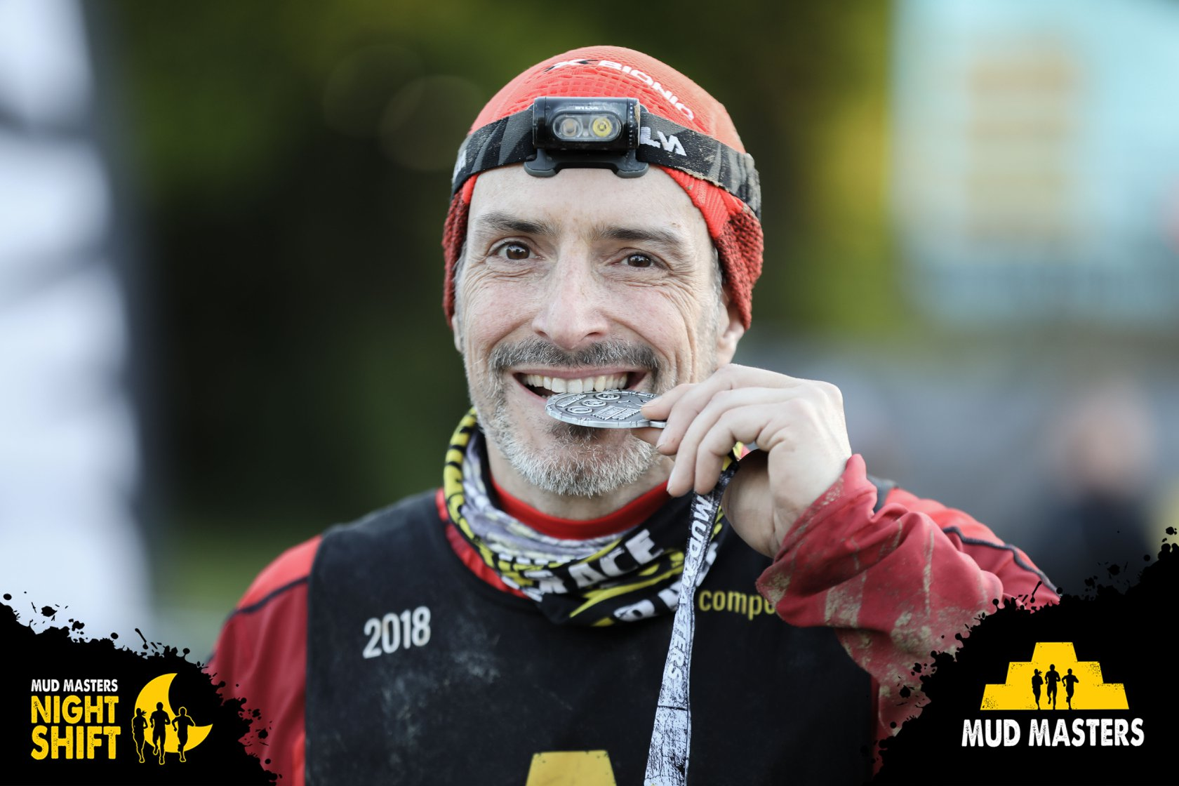 Mud Masters Obstacle Run 24 Hours Games, Hindernislauf Deutschland, Tough Chicken Medaille