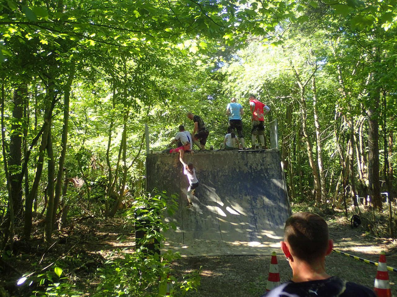 Mud Masters Family Run, Hindernislauf Deutschland, Hindernis Halfpipe