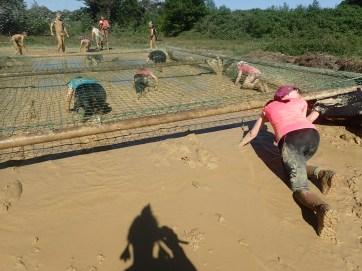Mud Masters Family Run, Hindernislauf Deutschland, Hindernis Mud Crawl 2