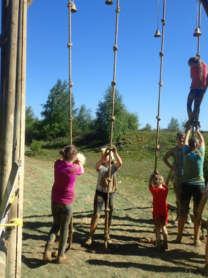 Mud Masters Family Run, Hindernislauf Deutschland, Hindernis Rope Climb