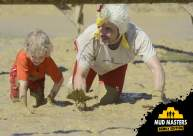 Mud Masters Obstacle Run Family Run, Hindernislauf Deutschland, Tough Chicken Family Sohn