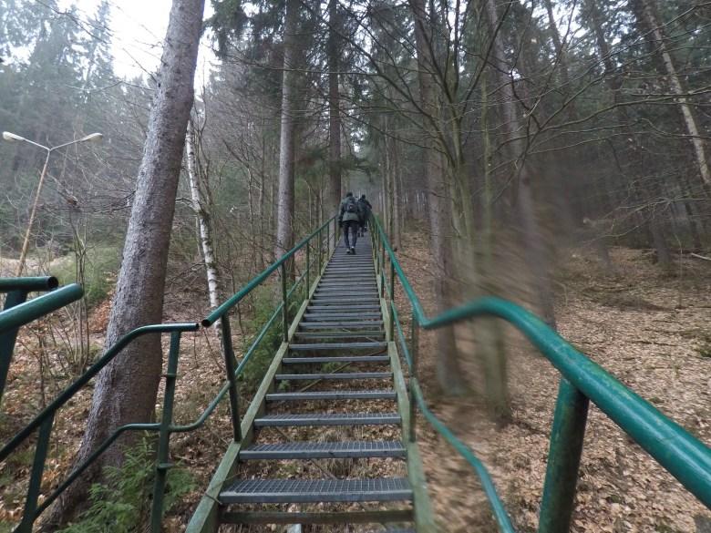Braveheart Battle, Hindernislauf Thüringen, Hindernis Stairs