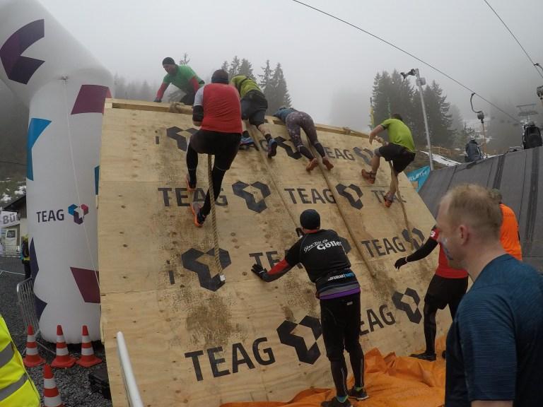 Braveheart Battle, Hindernislauf Thüringen, Hindernis Wall