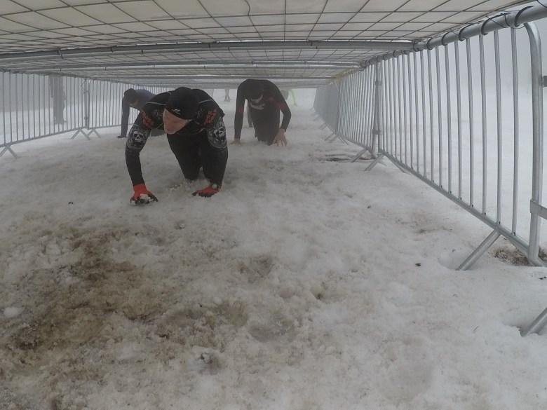 Braveheart Battle, Hindernislauf Thüringen, Kriechhindernis Snowpatrol