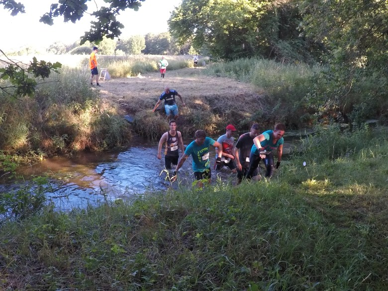 Hindernis Water Gully, Steelman Run