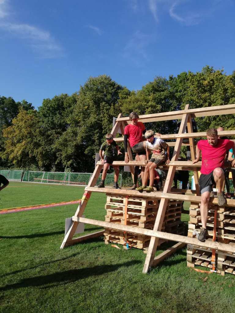 Great Barrier Run Kids, Hindernis A-Frame