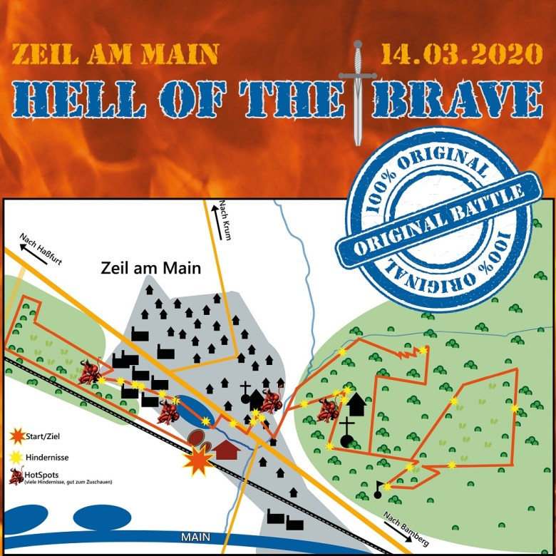 Strecke Hell of the Brave