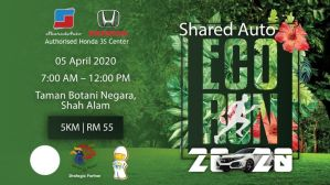 Shared Auto Eco Run 2020 @ Taman Botani Negara, Shah Alam