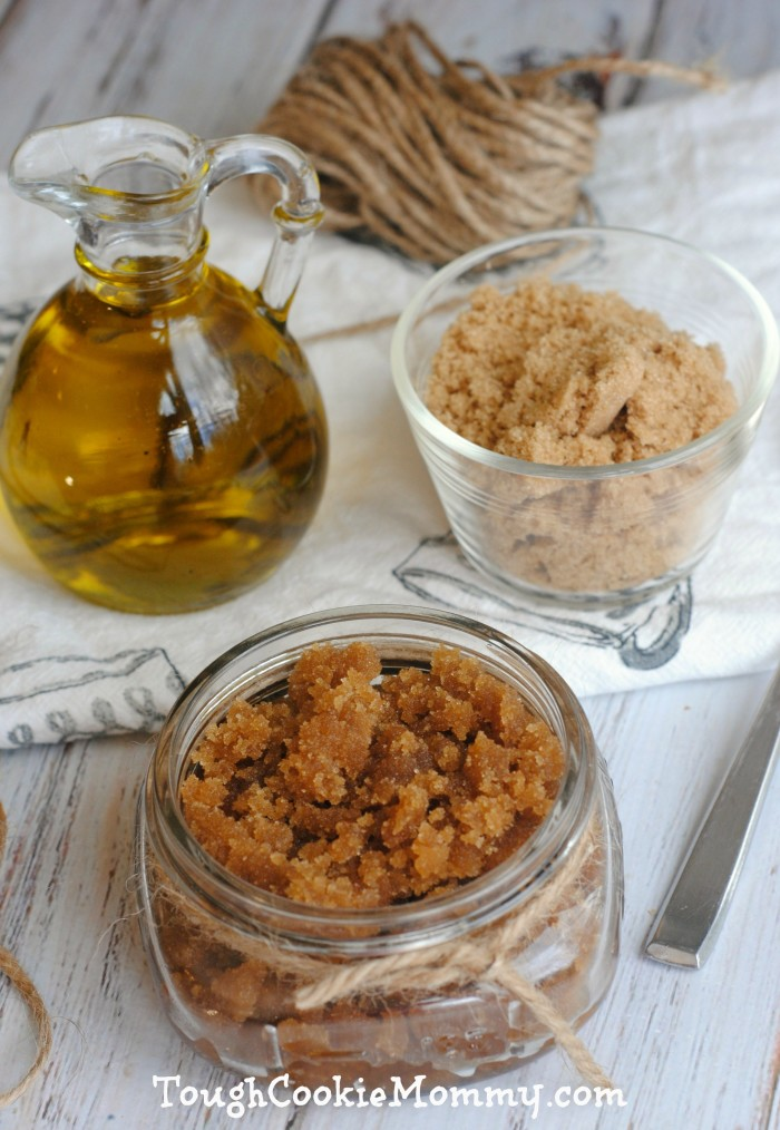Olive Oil, Brown Sugar and Honey Scrub - Tough Cookie Mommy