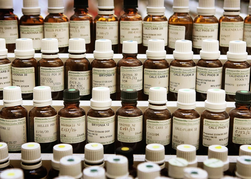 United States: Homeopathic Medicines Will Carry Labels Saying They're Unscientific
