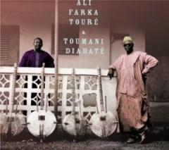 Une photo du dernier album de Ali Farka Touré et Toumani Diabaté
