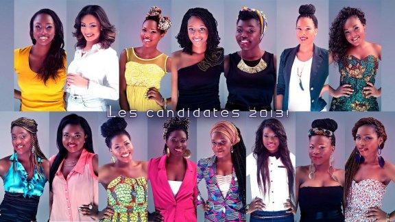 Miss Afrique Candidates
