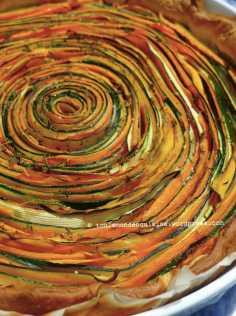tarte tourbillon carotte courgette