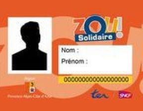 renouvellement carte zou solidaire CARTE SNCF ZOU SOLIDAIRE REGION PACA   TOULON BY JULIA
