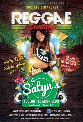 satyn's soiree reggae