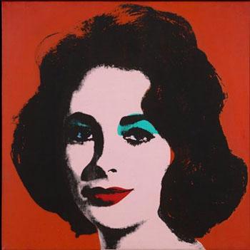 MUSEE GRANET - Andy Warhol, Liz #6