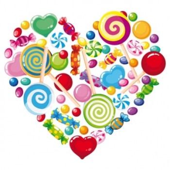 بيني وبينك قطعة حلوى