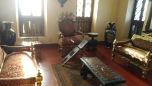 إحدى قاعات بيت الساحل