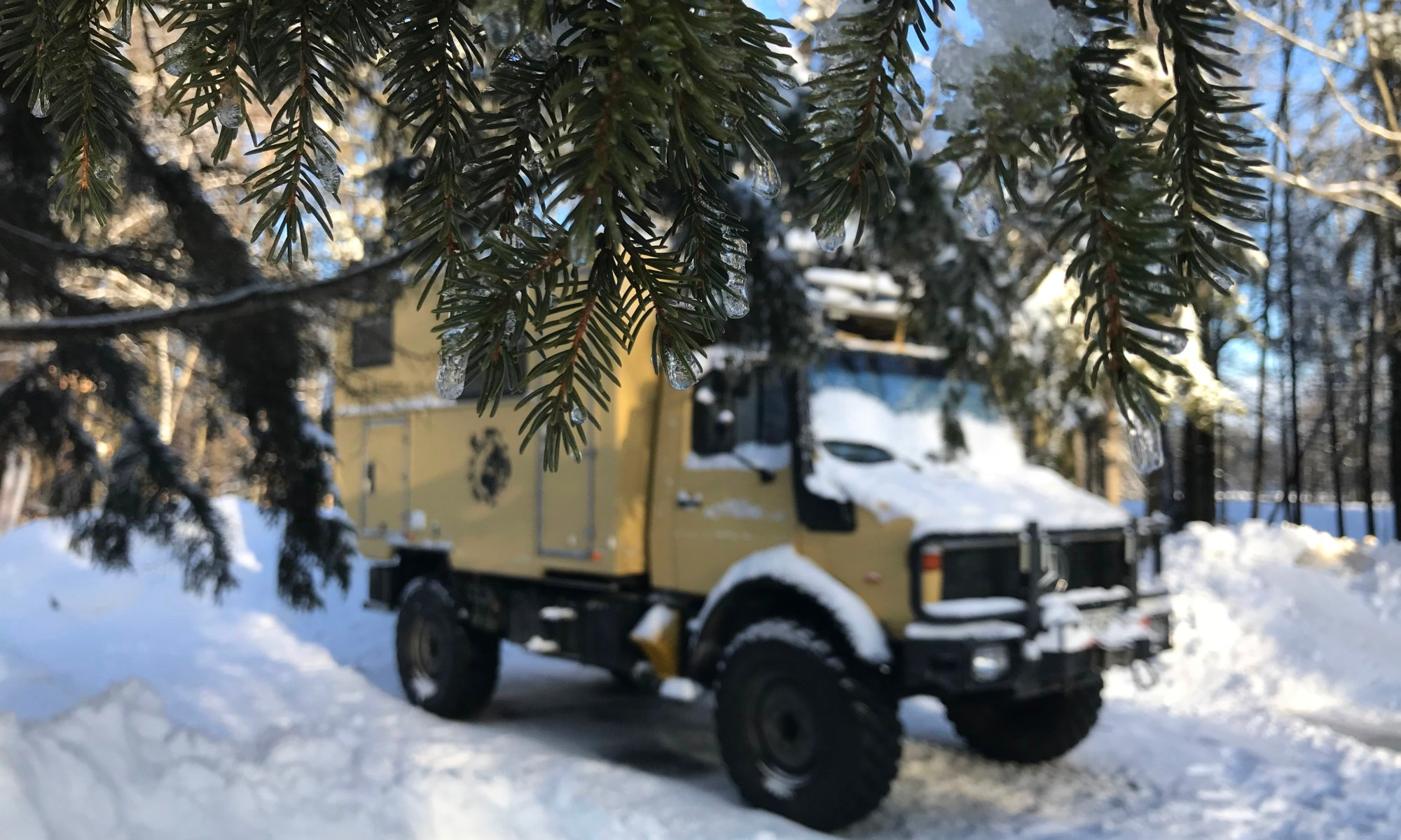 Unimog-Kanada-im-Winter