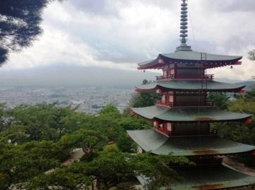 Pagode du mont fuji