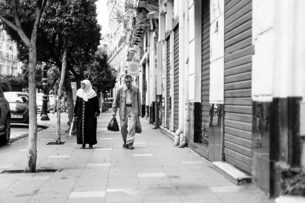 Couple de vieux Algérois © Mehdi Drissi