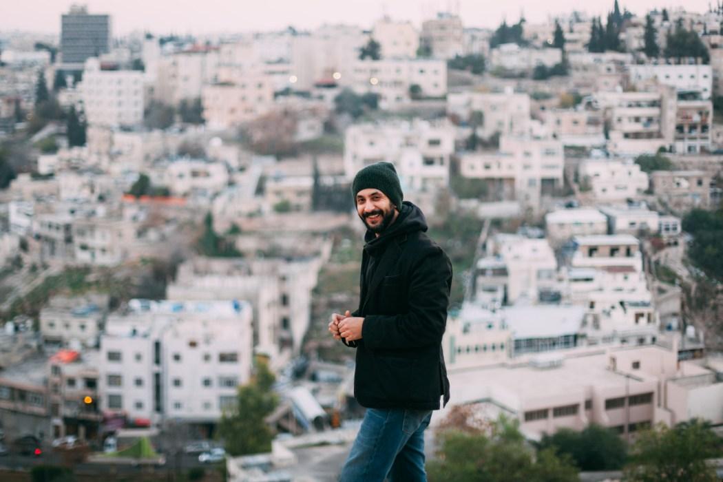 Mahmoud Radaideh du groupe Jadal band à Amman