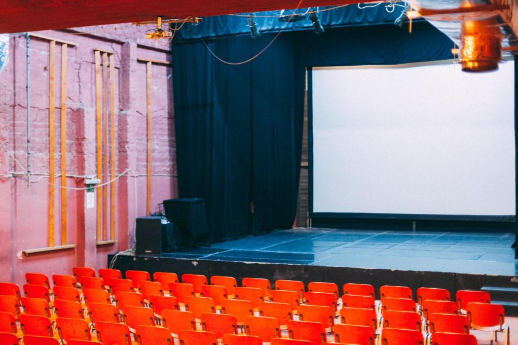 Masrah al Balad - salle de projection ©Mehdi Drissi