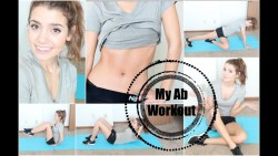 Get Healthy With Me | My Ab Workout Routine!