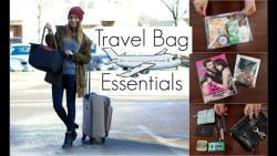 What's In My Travel Bag | In Flight Essentials!