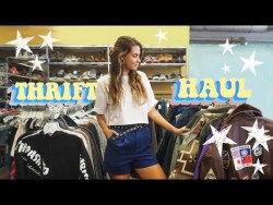 Come Thrifting with Me   TRY ON THRIFT HAUL Ep. 3