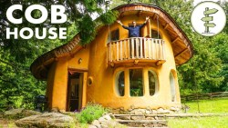 Incredible Cob House Tour – A Sustainable Green Building