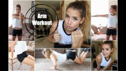 Get Healthy With Me | Arm Workout (Beginner + No Weights)
