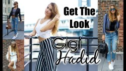 Get The Look: Gigi Hadid   Everyday Makeup + Casual Outfits!