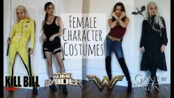LAST MINUTE FEMALE CHARACTER COSTUMES