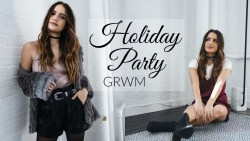 GET READY WITH ME: HOLIDAY PARTY | 4 Outfit Ideas!