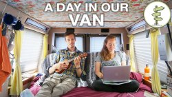 A Day in the Life: Travelling, Working & Living in a Van – Van Life Vlog
