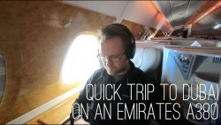 Attaché Travels – Part 3 Dubai in Business Class on an Emirates A380