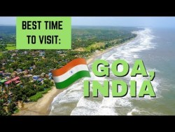 BEST time of year to visit GOA, INDIA | Travel Vlog Ep. 36 | Arambol Happy Panda Hostel