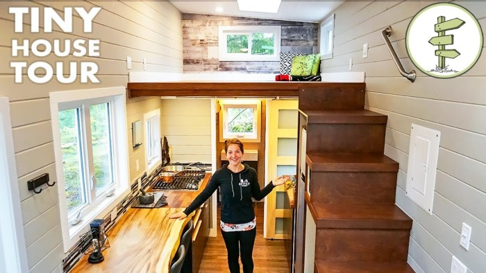 Bright & Spacious Tiny House is Perfect for Working from Home! – Full Tour