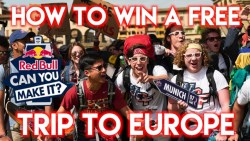 HOW TO WIN A FREE TRIP TO EUROPE – Red Bull Can You Make It 2018 – Travel Challenge